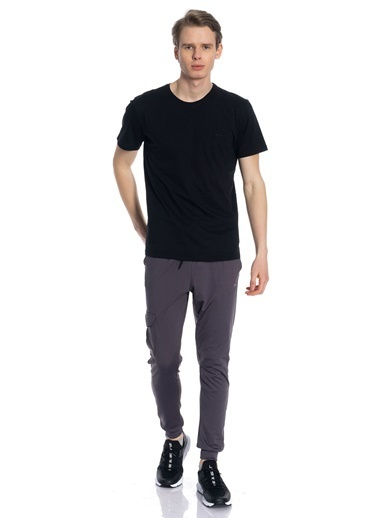Slazenger Sander Erkek T-Shirt Siyah